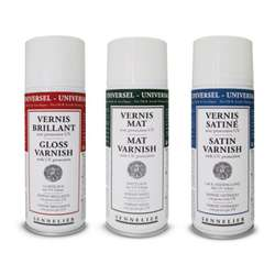 Vernis anti-UV Sennelier (aérosol)