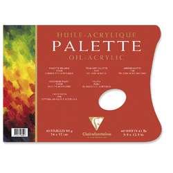 Bloc palette Clairefontaine (90g/m²)