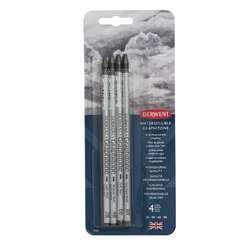 Lot de 4 crayons Graphitone Derwent