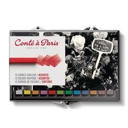 Coffret de pastels carrés Conte