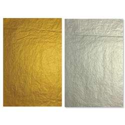 Papier de soie or/argent