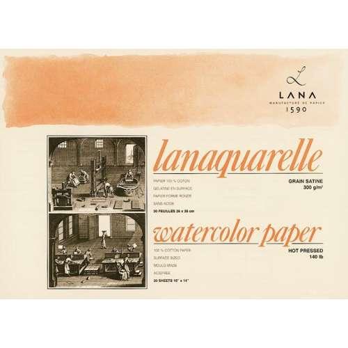 Bloc aquarelle Lanaquarelle