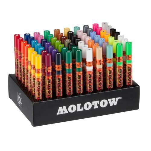 Set complet de 70 marqueurs One4All 127HS Molotow