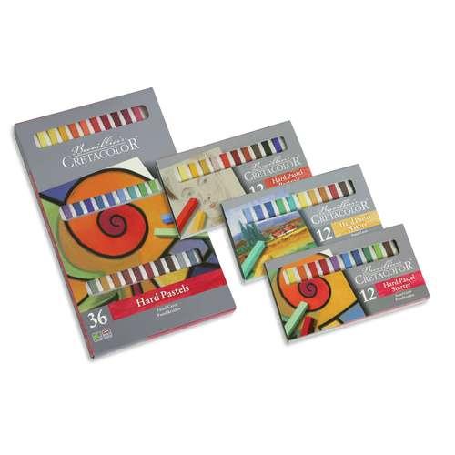 Coffret en carton de pastels Crétacolor