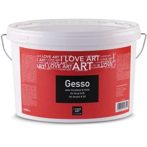 Gesso I Love Art