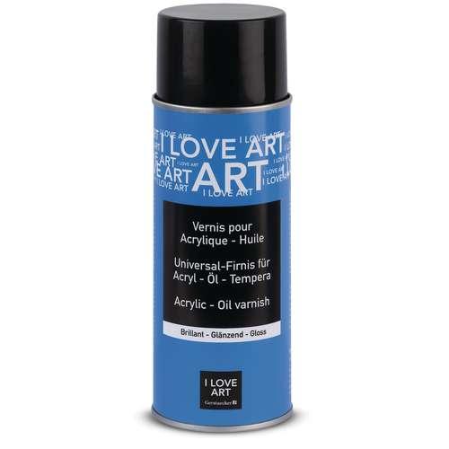 Vernis universel pour acrylique et huile I Love Art