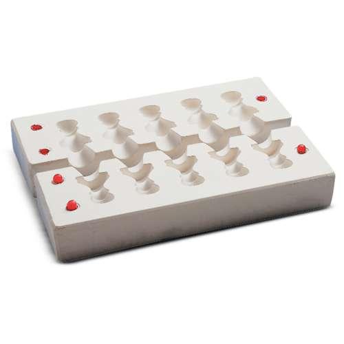 Moule pour pions de jeu d'échecs