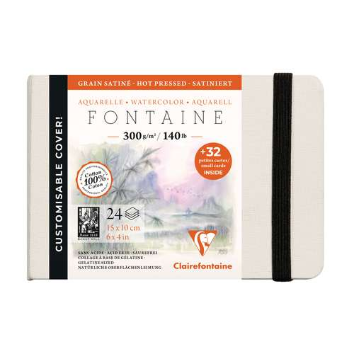 Carnet cousu Fontaine Clairefontaine
