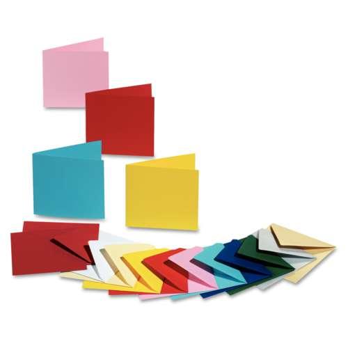 Cartes doubles de couleur Folia