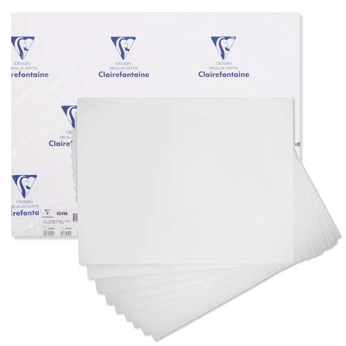 Manipack 10 feuilles papier acrylique Clairefontaine (360g/m²)