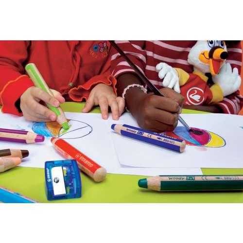 Crayons de couleur Woody de Stabilo