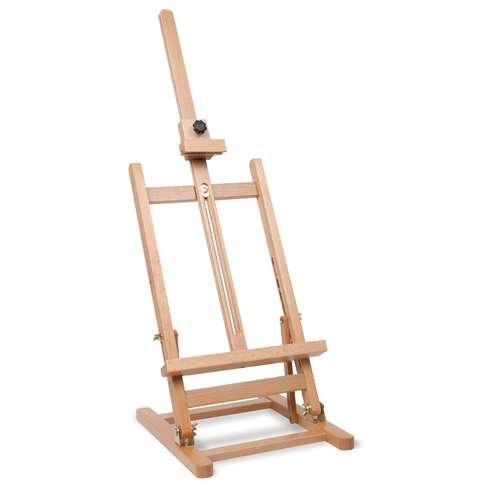 Chevalet de table I Love Art -  Largeur 27,5 cm