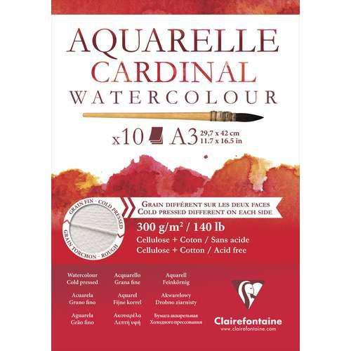 Papier Aquarelle Cardinal Clairefontaine