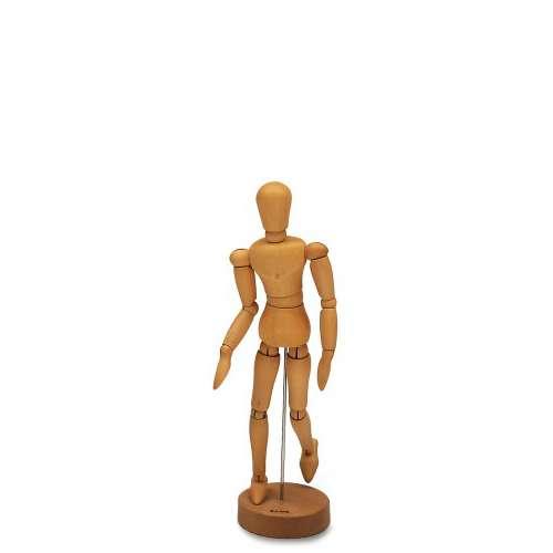 Mannequin articulé en bois clair