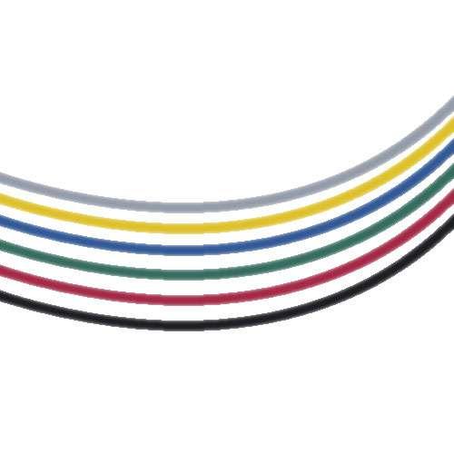 Fil élastique coloré