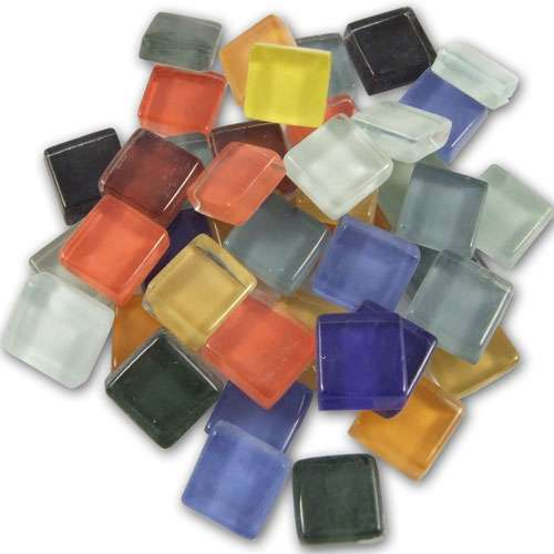 Mosaique verre souple