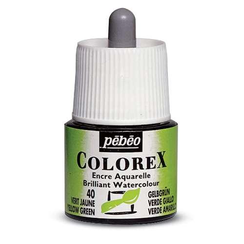 Encre aquarelle Colorex.