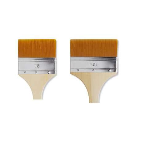 Lot de 2 spalters Pébéo en fibres polyamide dorées