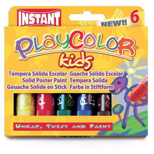 Gouache solide Playcolor Kids