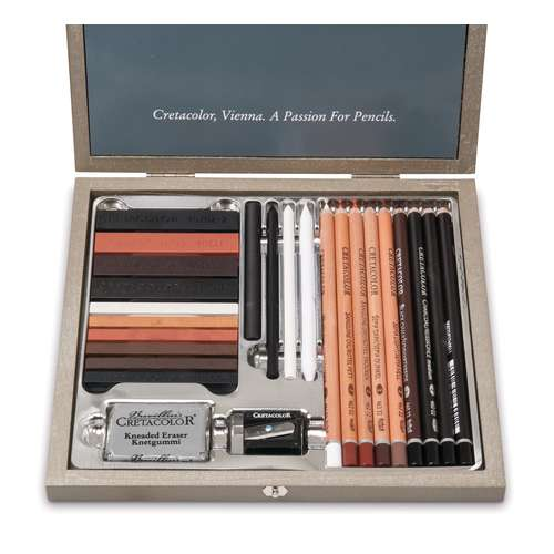 Coffret Passion Box Cretacolor