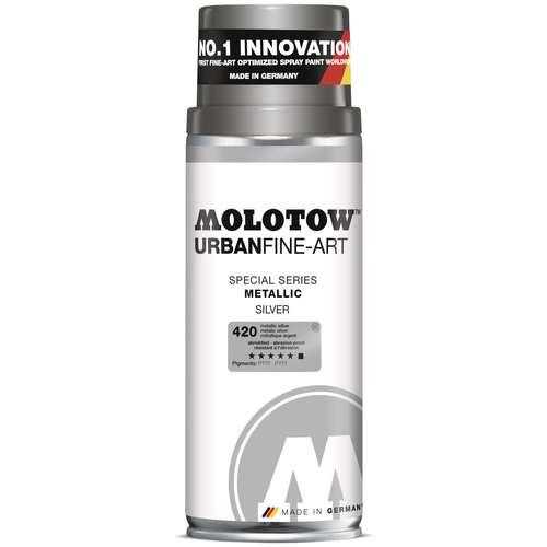 Acrylique extra-fine en aérosol effet spécial métallique Urban Fine-Art Molotow - 400ml