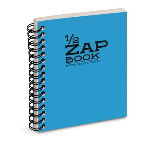 Demi Zap Book 80g/m² Clairefontaine (80 feuilles)