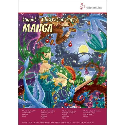 Bloc Manga, Layout et Illustration - 80 g/m²