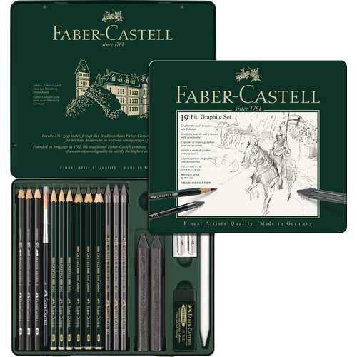 Coffret Pitt Graphite Faber Castell