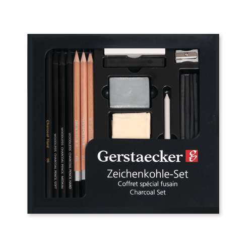 Coffret spécial fusain de Gerstaecker