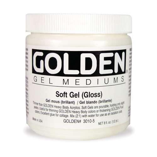 Soft Gel brillant Golden