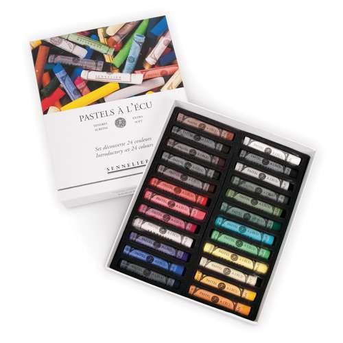 Coffrets de 24 pastels à l'Ecu - Introduction