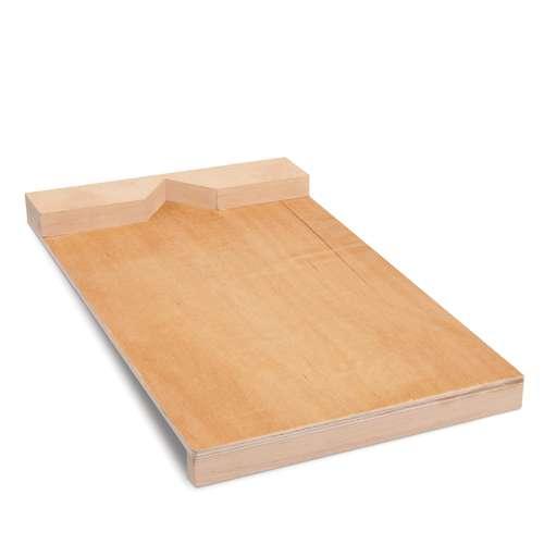 Planche à graver en bois