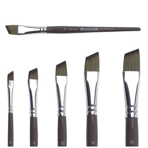 Pinceaux Expression pointe biseautée, série 50PS
