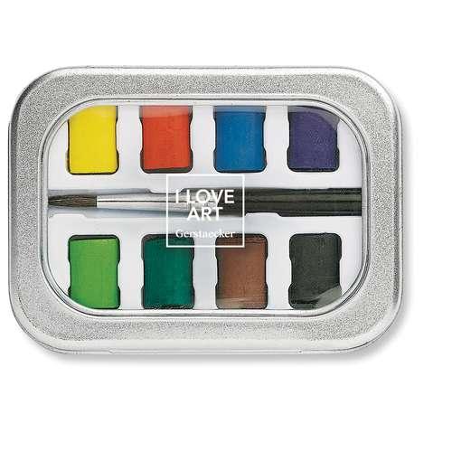 Mini Pocket Box Aquarelle I Love Art