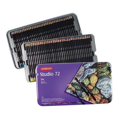Coffrets Crayons de couleurs Derwent Studio