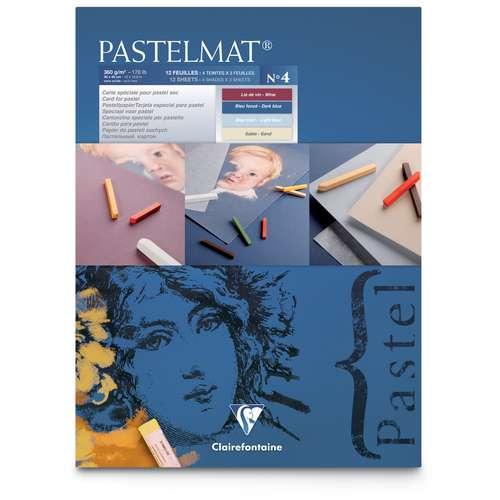 Bloc Pastelmat de 12 feuilles Version 4 - 360 g/m²