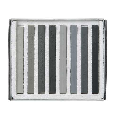 Coffret de craies grises Cretacolor