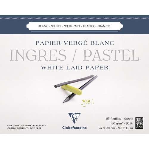 Bloc Ingres / Pastel Clairefontaine (collé en tête)