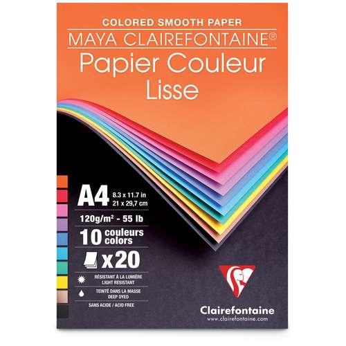 Bloc Maya de Clairefontaine (120g/m²)