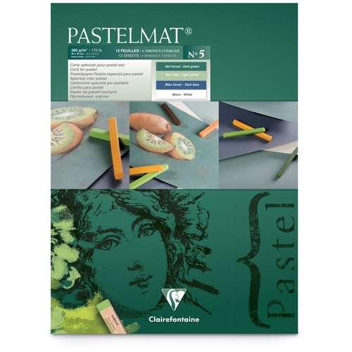 Bloc Pastelmat version 5 de Clairefontaine - 360 g/m²