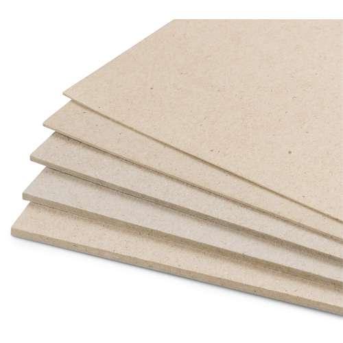 Carton gris.