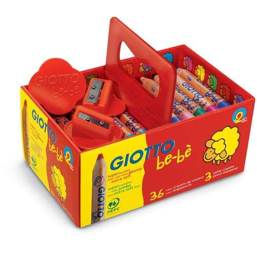 Coffret de 36 crayons de couleur Maxi Giotto