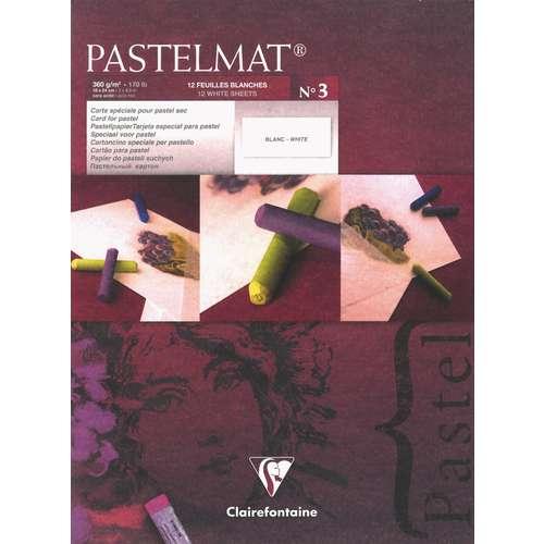 Bloc de 12 feuilles Pastelmat Version 3 - 360g/m²
