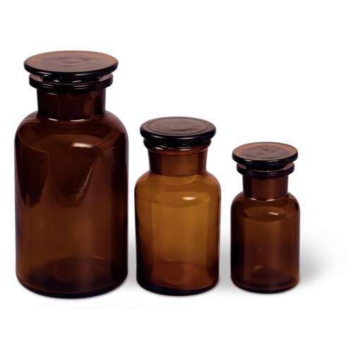 Pot à pharmacie en verre