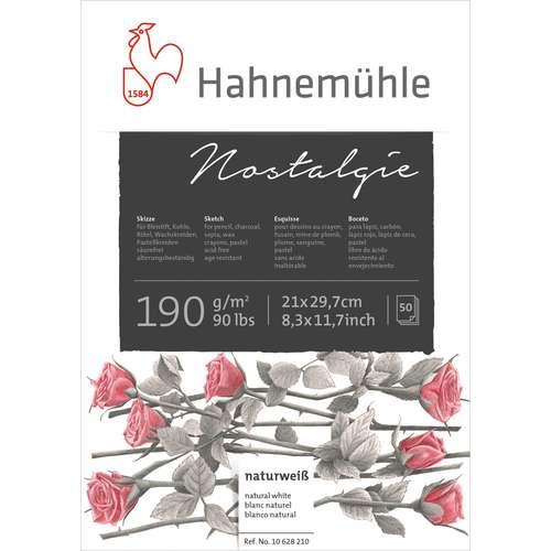 Bloc esquisse nostalgique Hahnemühle