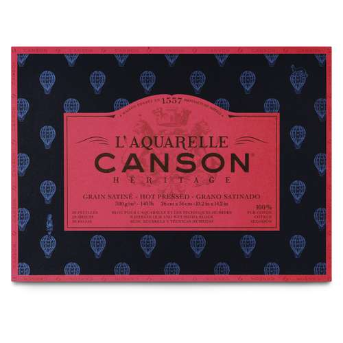 Bloc aquarelle Canson Héritage
