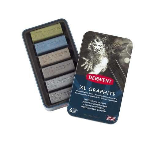 Coffret de craies graphites  Derwent XL