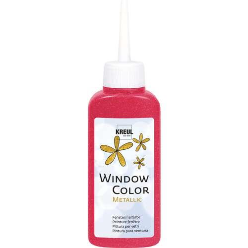 """Peinture fenêtre """"Window Color"""" Kreul - Couleurs Métal"""