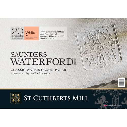 Papier aquarelle 100% coton Saunders Waterford