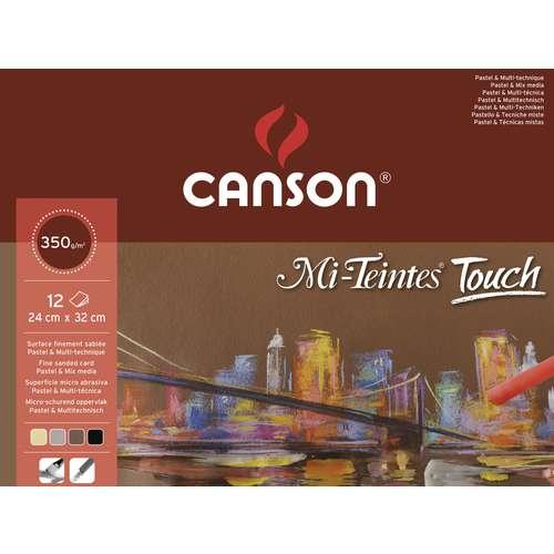 Bloc Mi-Teintes Touch Canson